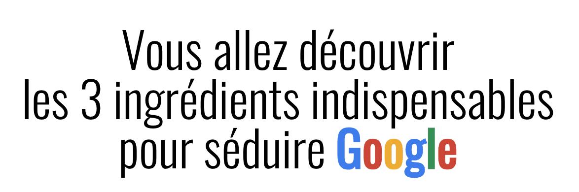 seduire google